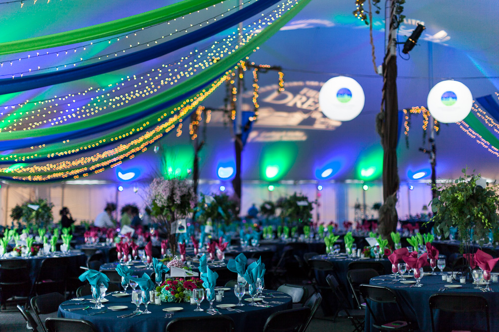 Tent for corporate event