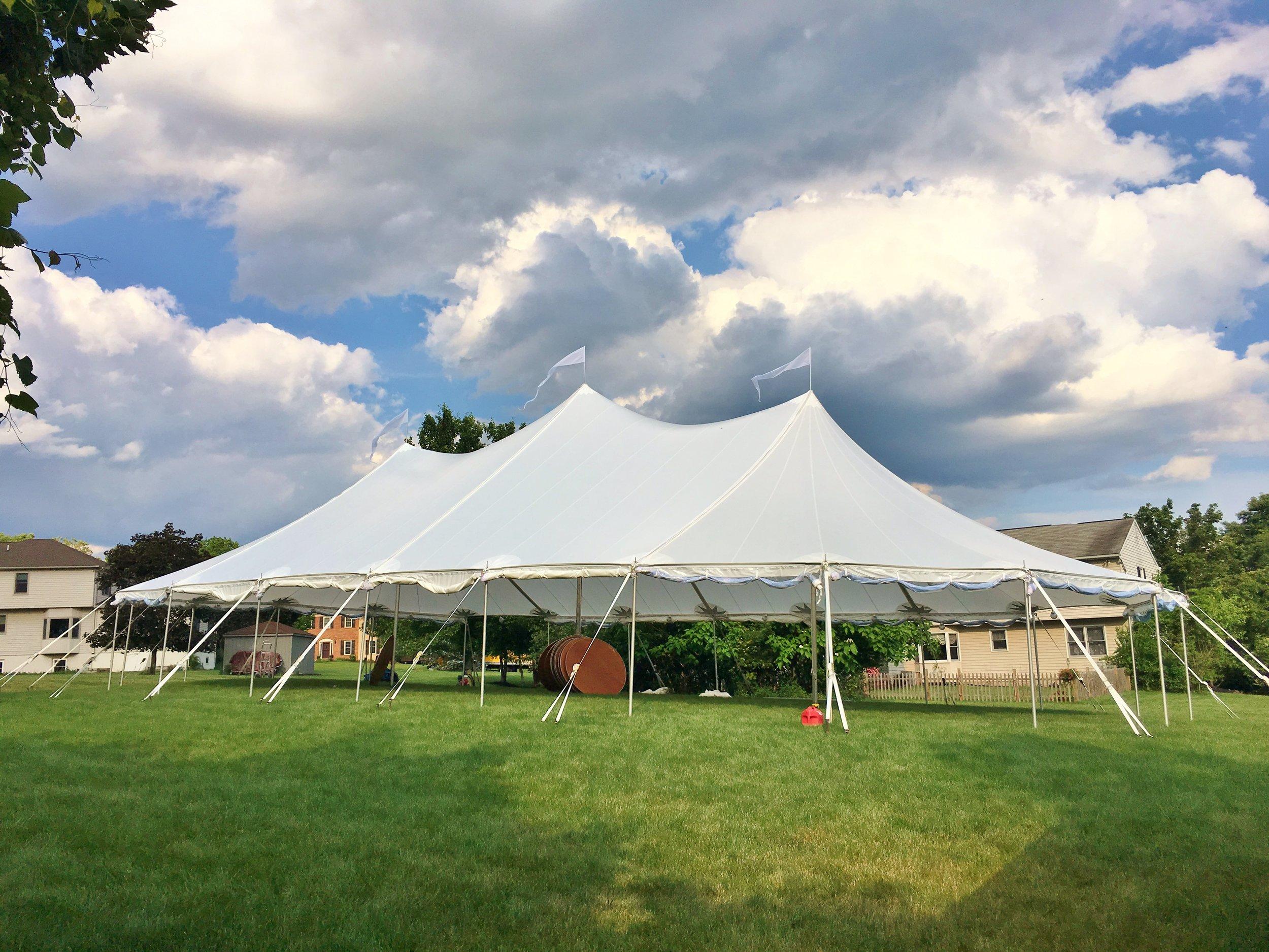 Aurora wedding tent