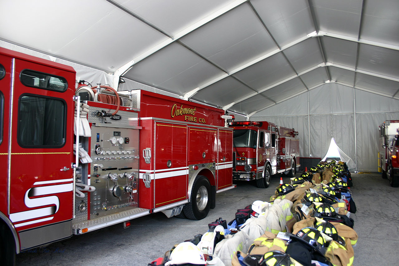 Temporary firehouse