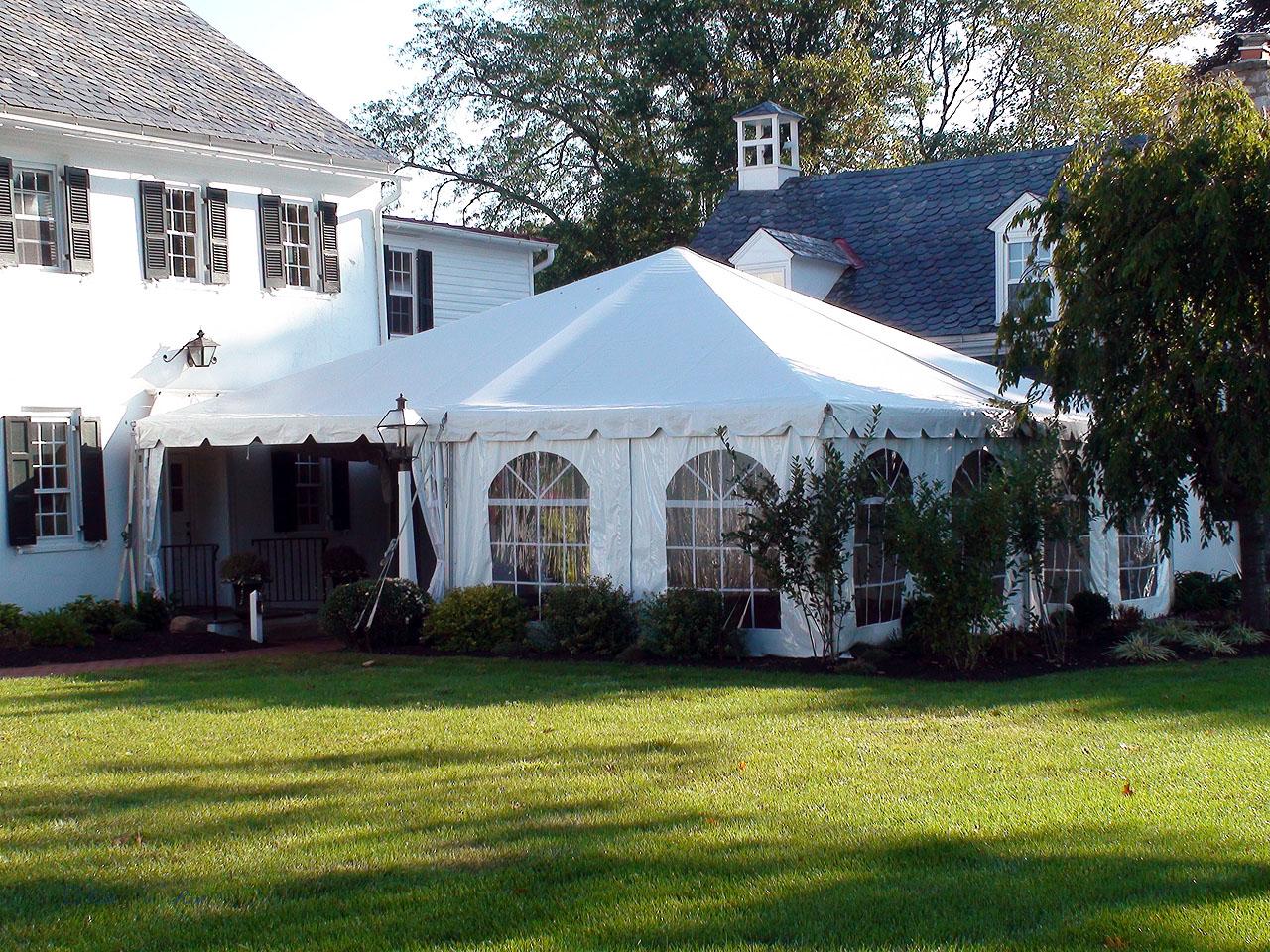 Frame tent rentals in Middletown
