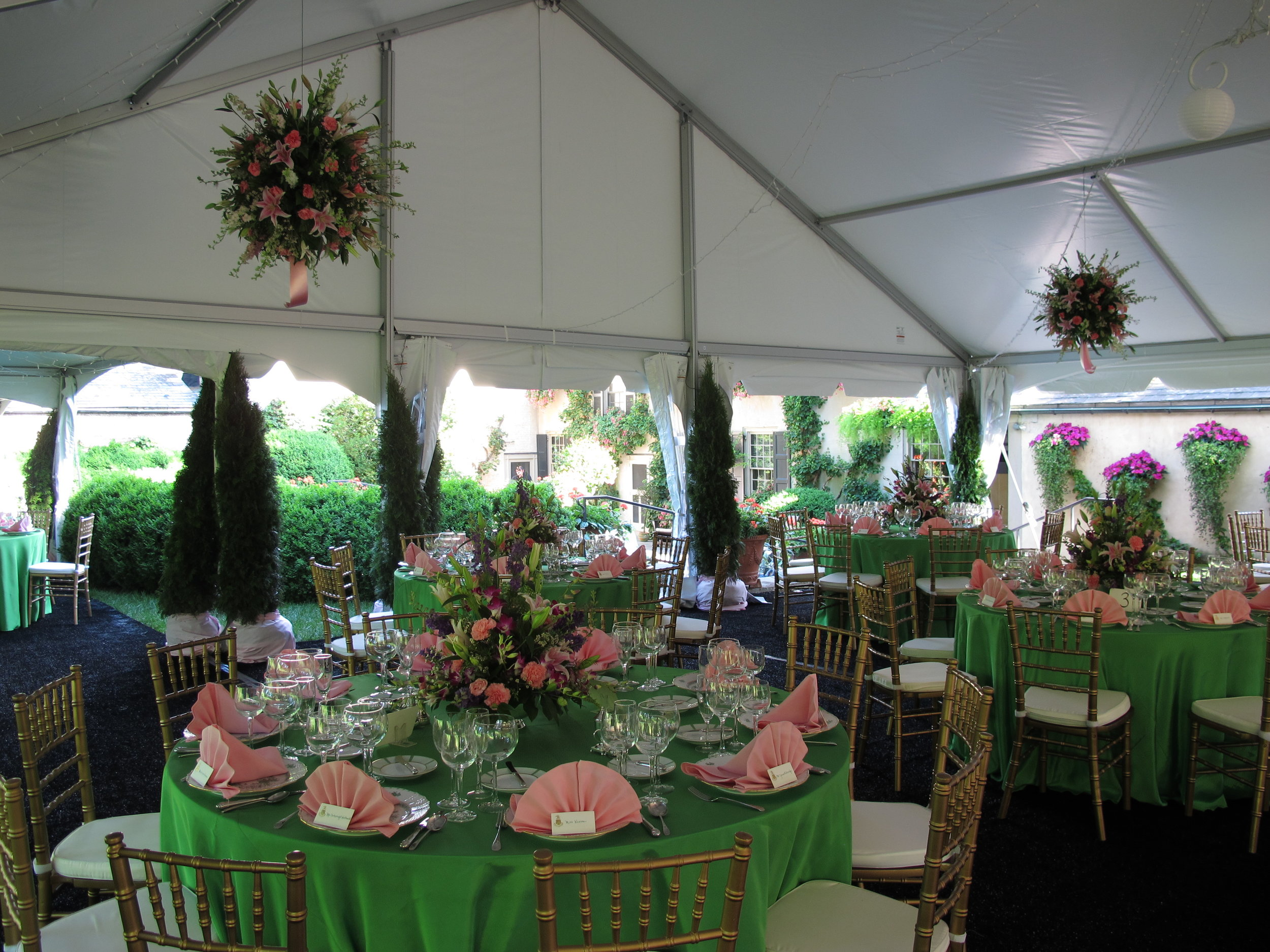 Party tents in Millersville PA