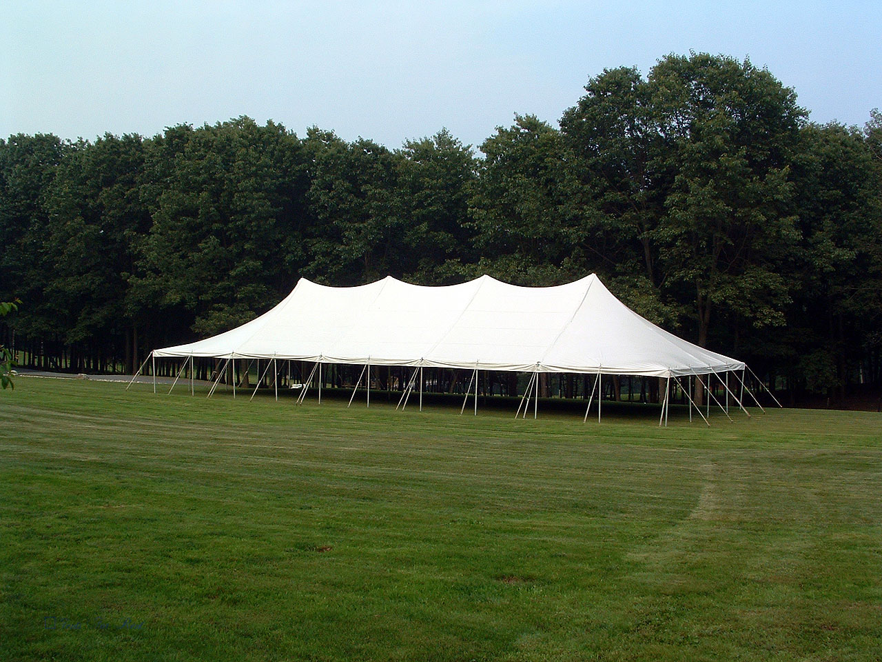 Large white tent for rent in Nazareth, PA