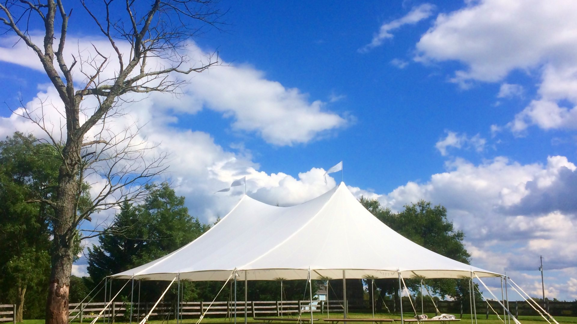 Beautiful Sailcloth for rent in Easton, PA