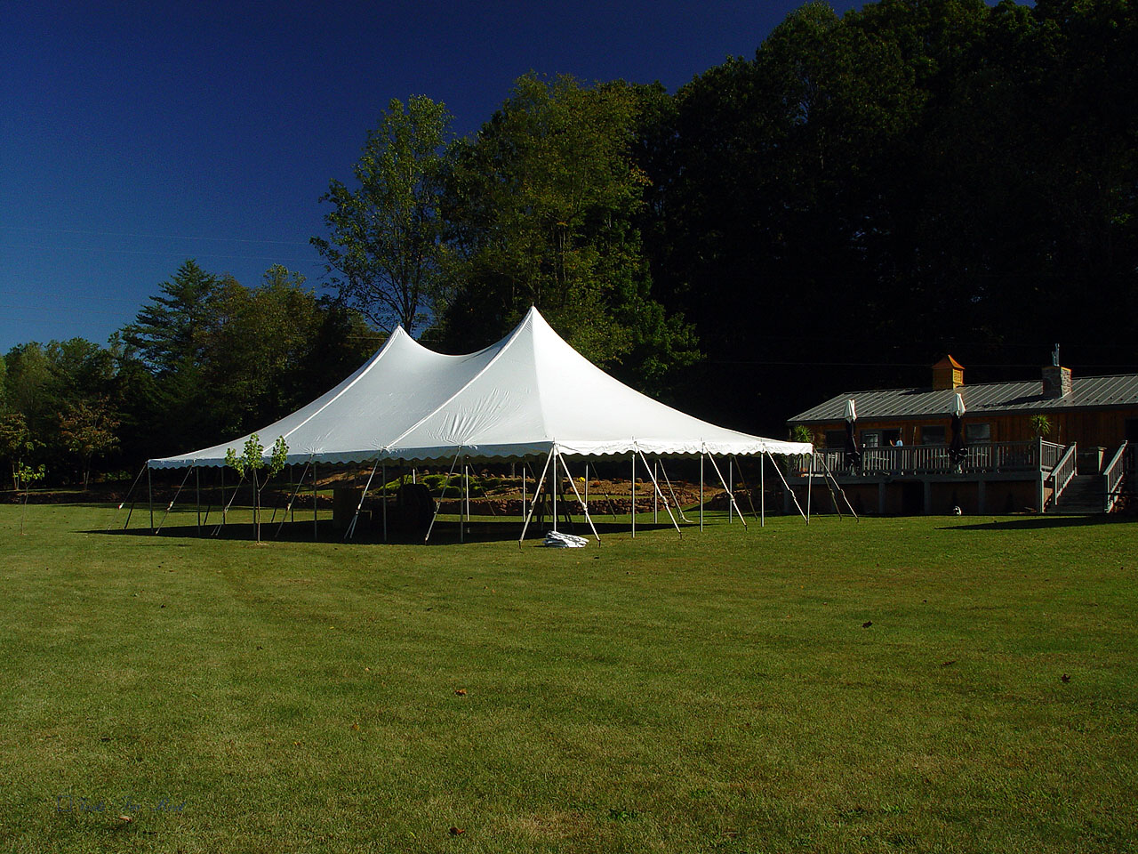 White tent for rent in Coatesville, PA