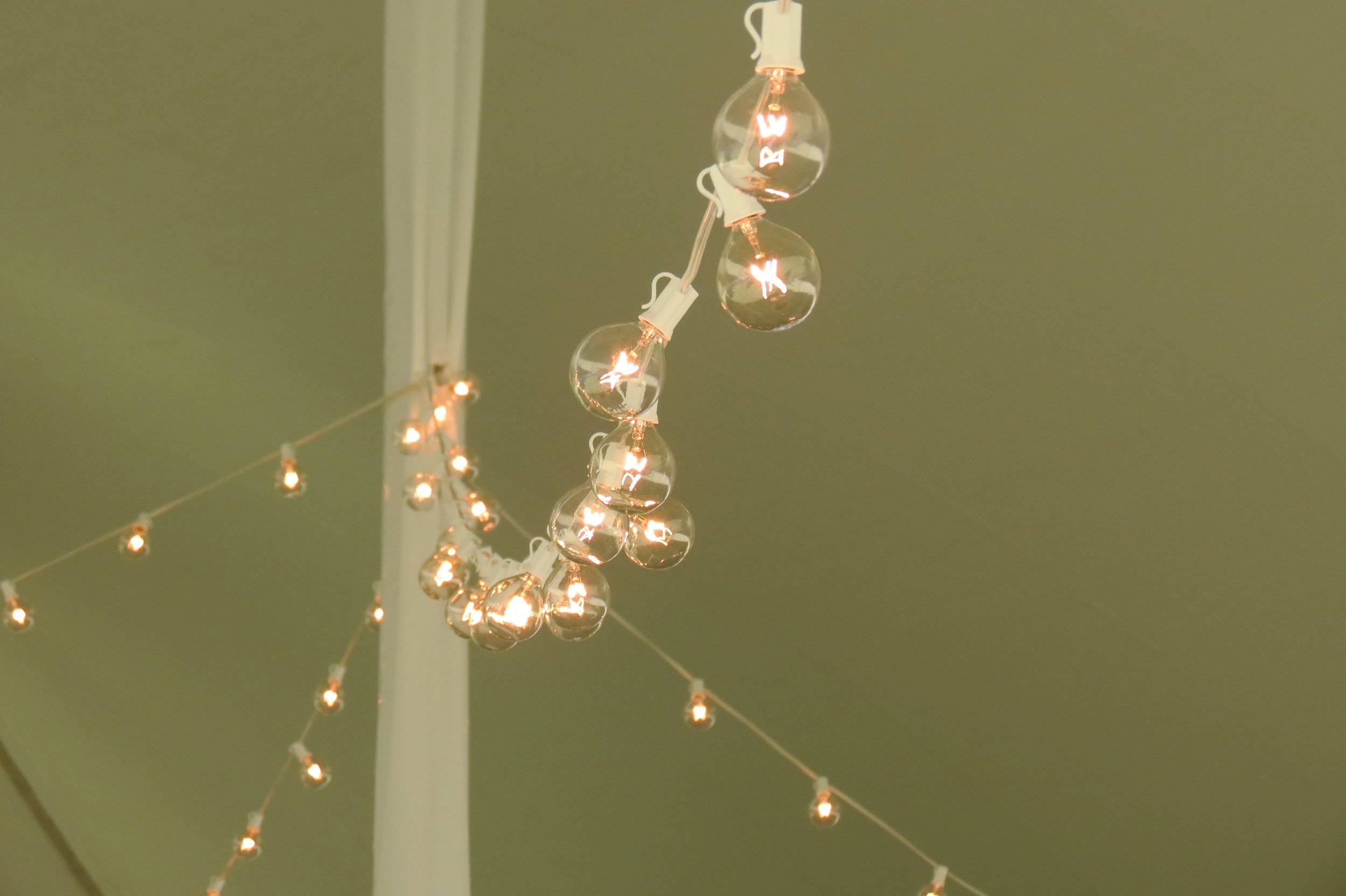 Romantic cafe lighting for rent in Chambersburg, PA