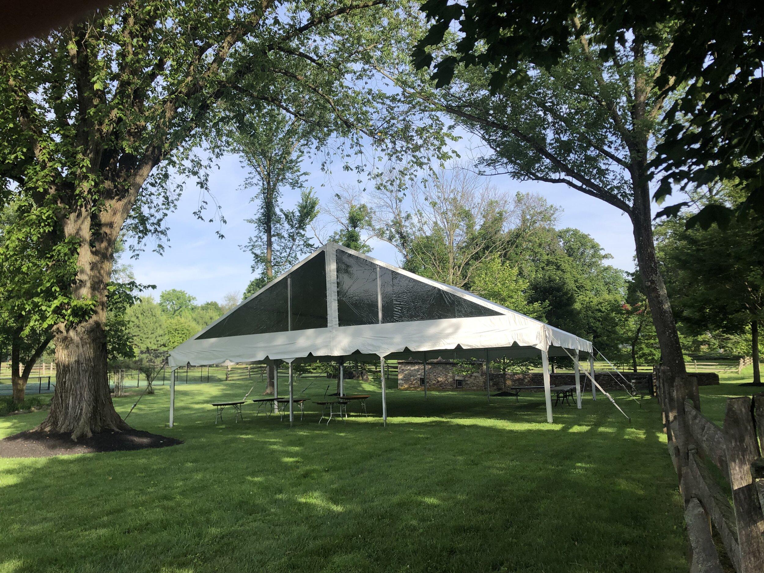 Professional tent management service