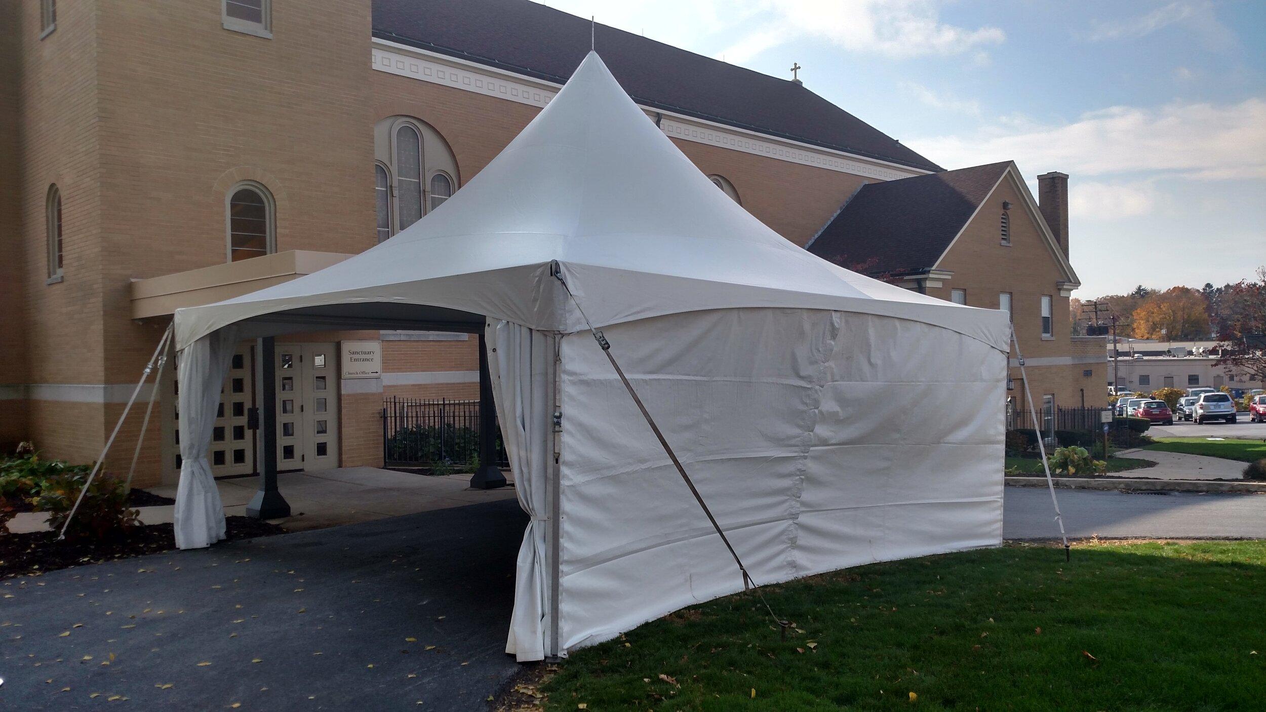 Tent management service