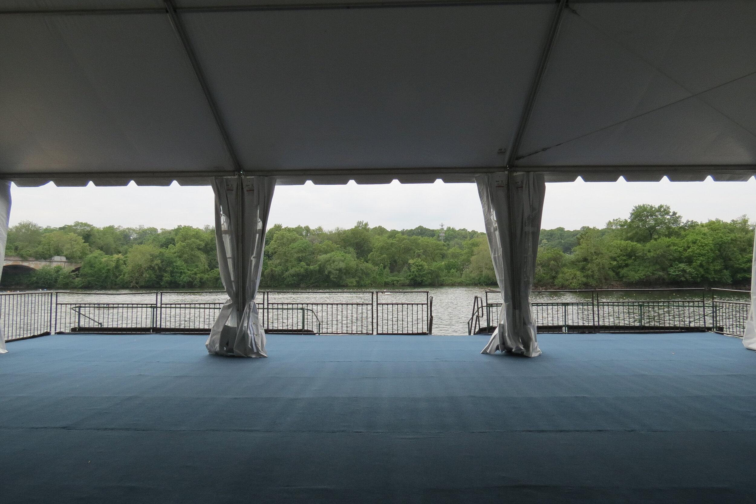 Commercial tent management
