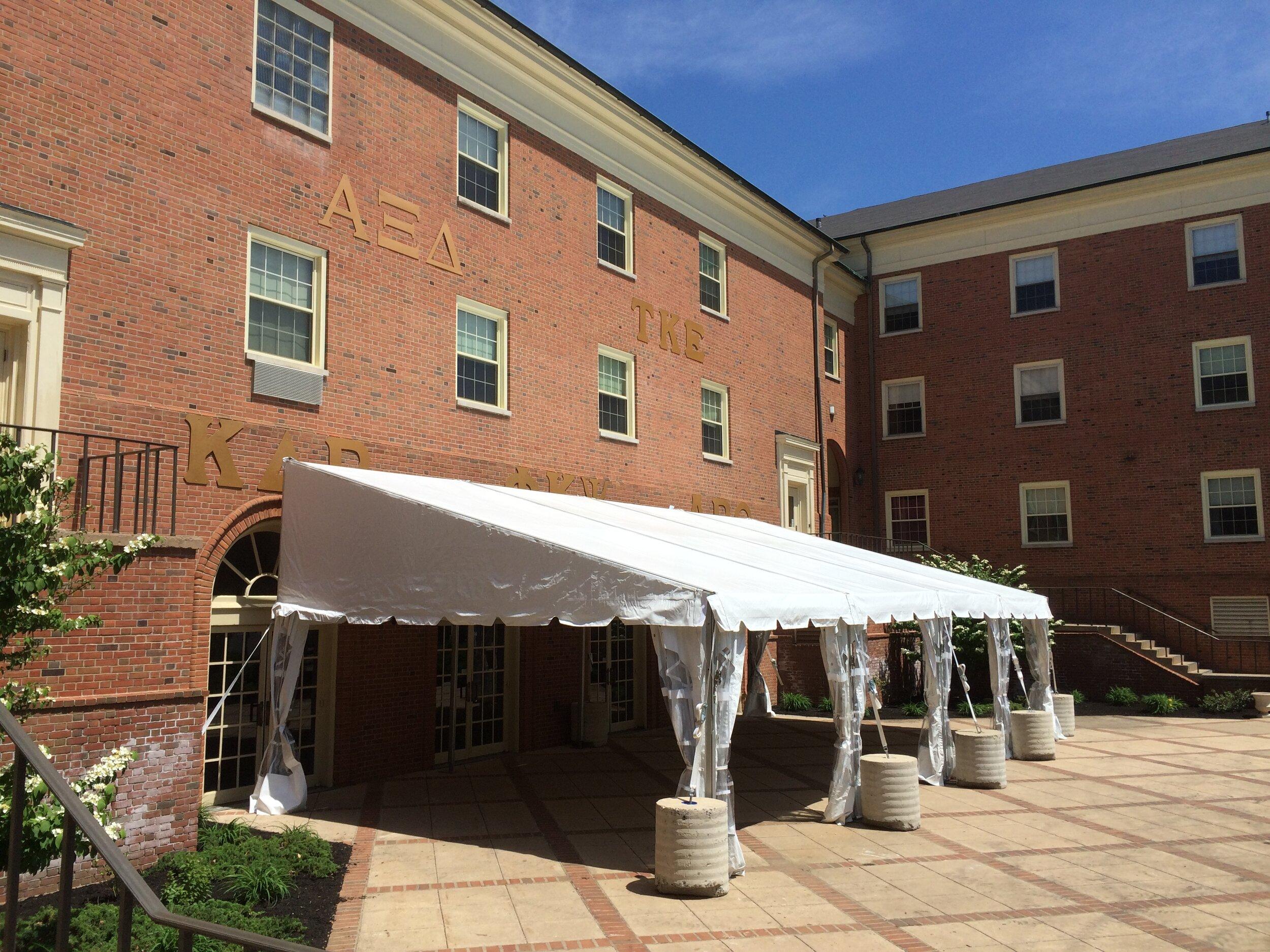 University tent service
