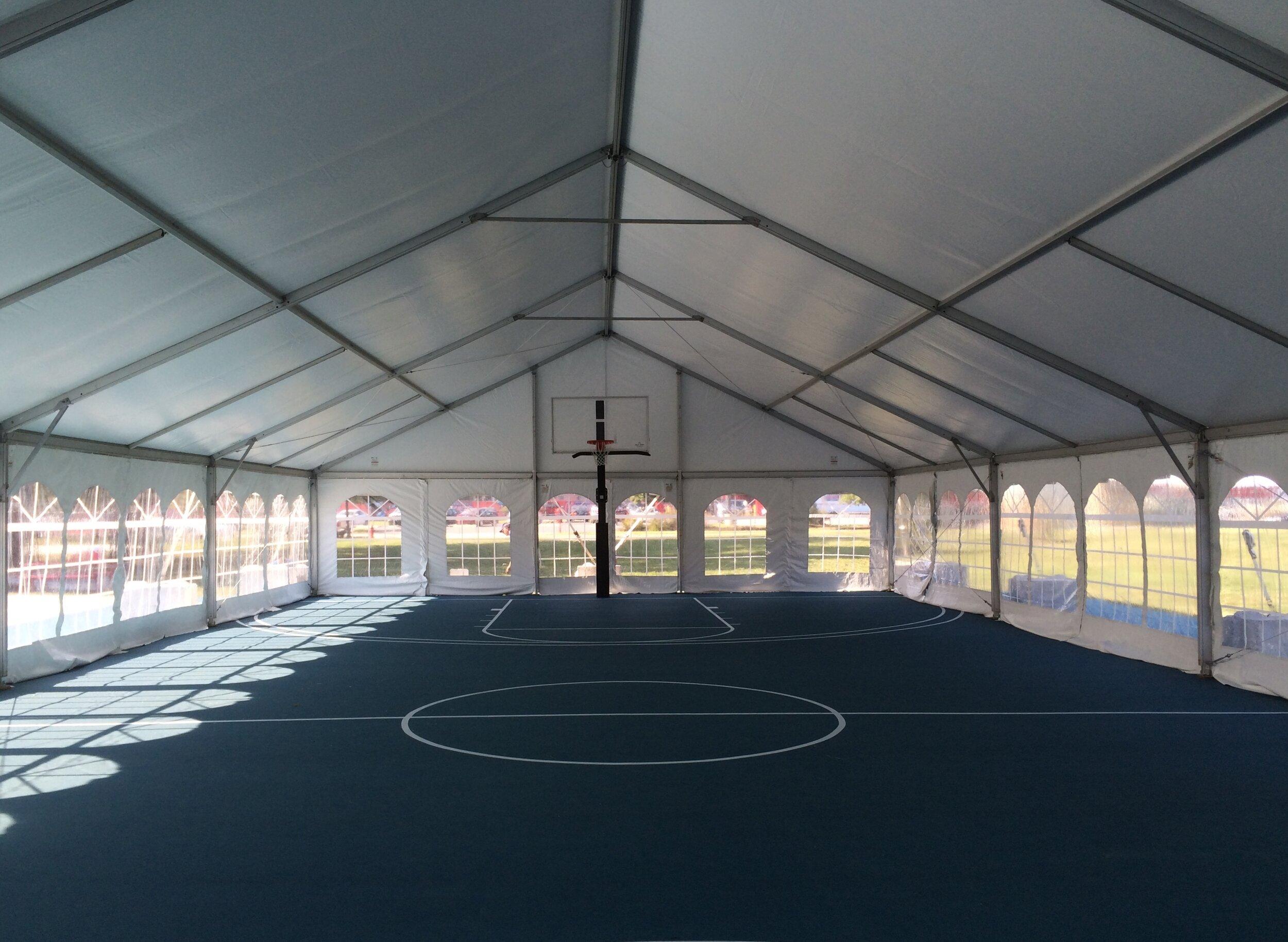 Industrial commercial tent management