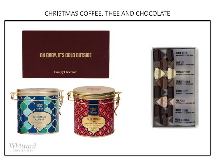 CHRISTMAS COFFEE, THEE AND CHOCOLATE