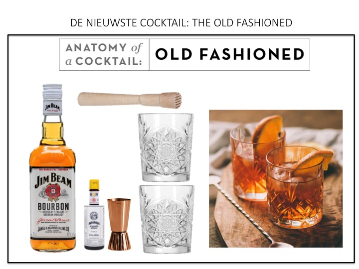 DE NIEUWSTE COCKTAIL: THE OLD FASHIONED