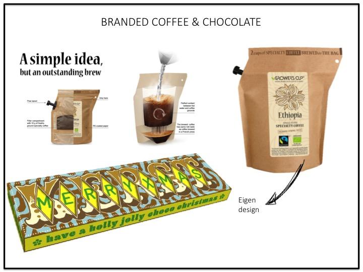 Branded coffee & Chocolate