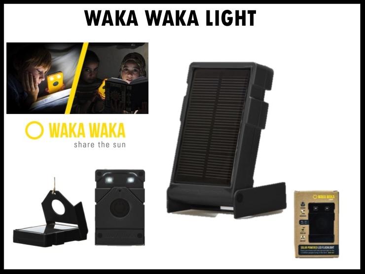 De WakaWaka light is een handig en duurzaam relatiegeschenk. De WakaWaka is de meest efficiënte solar-lamp ter wereld. Eén dag opladen in de zon geeft tot wel 34 uur zeer fel, veilig en duurzaam licht. Gemaakt van 100% recycled PC-ABS. En als je een WakaWaka koopt, help je om licht en stroom toegankelijk te maken voor families en mensen waar het hard nodig is. Prijs per stuk €26,-00. Vanaf 50 stuks te bestellen.