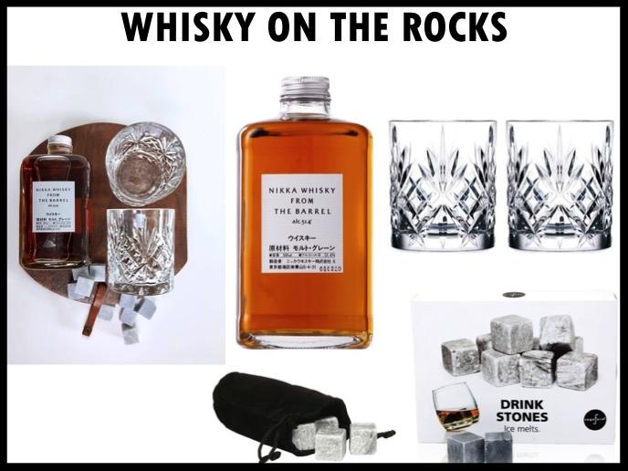 Ben je op zoek naar een stijlvolle drankset, met deze whiskeyset zit je altijd goed! De set bestaat uit: Nikka from the Barrel whiskey (50 cl), drinking stones die de whiskey heerlijk koel houden en 2 kristallen glazen. Prijs per stuk: €60,00. Vanaf 50 stuks te bestellen.
