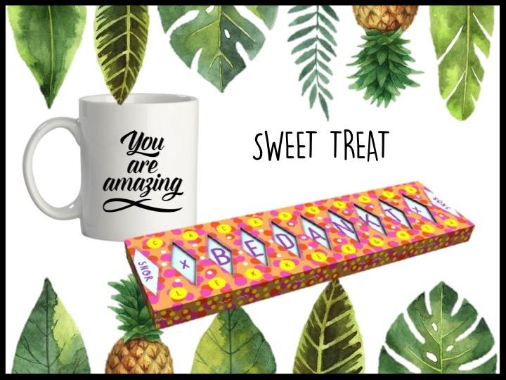 Hoe kan je je medewerkers beter bedanken dan met een overheerlijke grote reep chocolade? De reep is van het merk Snor en weegt 200 gram. Samen met een leuke bedrukte mok voor thee of koffie bij de chocolade. We verpakken het cadeau in een cadeautasje samen met een bedrukte kaart met eigen design.  Prijs per stuk vanaf 100 stuks €6,75 exclusief BTW.