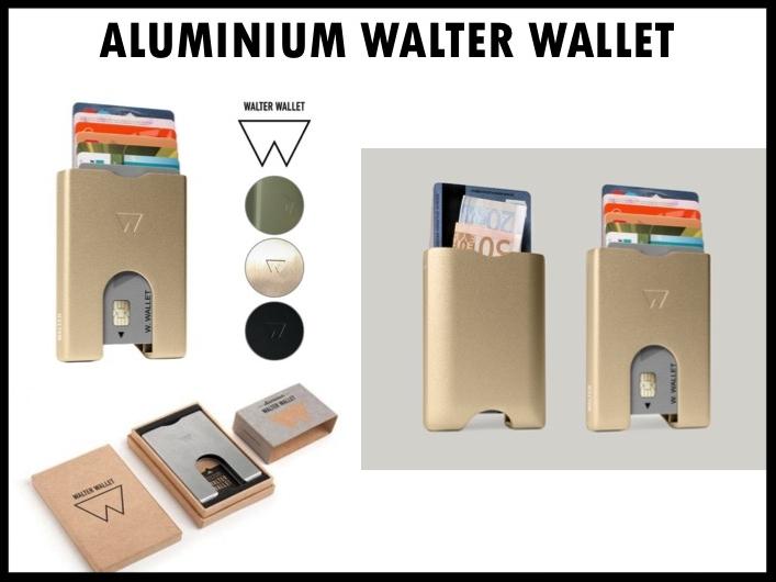 De Walter Wallet is een revolutionaire wallet met een gepatenteerd trapsysteem. In één handbeweging haal je je pasjes tevoorschijn. De wallet heeft een compact design, is superlicht en is 100% recyclebaar. De Walter Wallet biedt ruim voor zeven pasjes en er is een aparte ruimte voor briefgeld. Prijs per stuk vanaf 50 stuks €30,00 exclusief BTW.