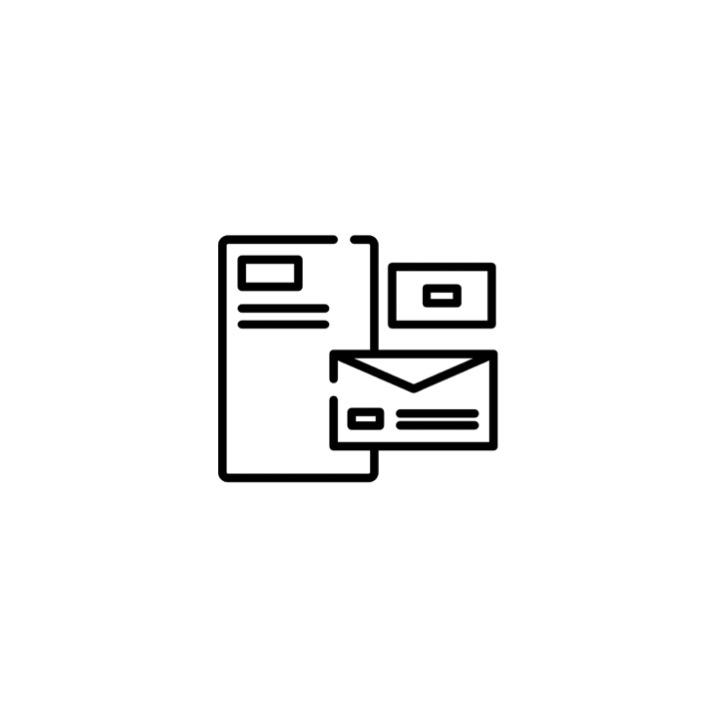 DRUKWERK & DESIGN - Wij werken samen vaste partners op het gebied van drukwerk. Of het nu gaat om het bedrukken van producten, kleding, briefpapier of visitekaartjes, we've got you covered. Ook hebben wij een grafisch designer in ons team die de mooiste ontwerpen voor je kan maken passend bij de look and feel van jouw merk.