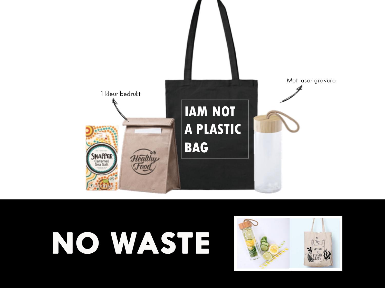 Een duurzaam, verantwoord cadeau is deze set met daarin een lunchbag en een Snapper chocoladereep van het merk Australian. De lunchbag kan bedrukt worden met 1 kleur.