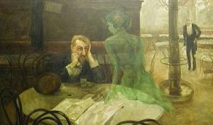 Den gröna fen kommer......absint prova i stockholm