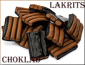 Lakrits- och chokladprovning    i stockholm bäst i test