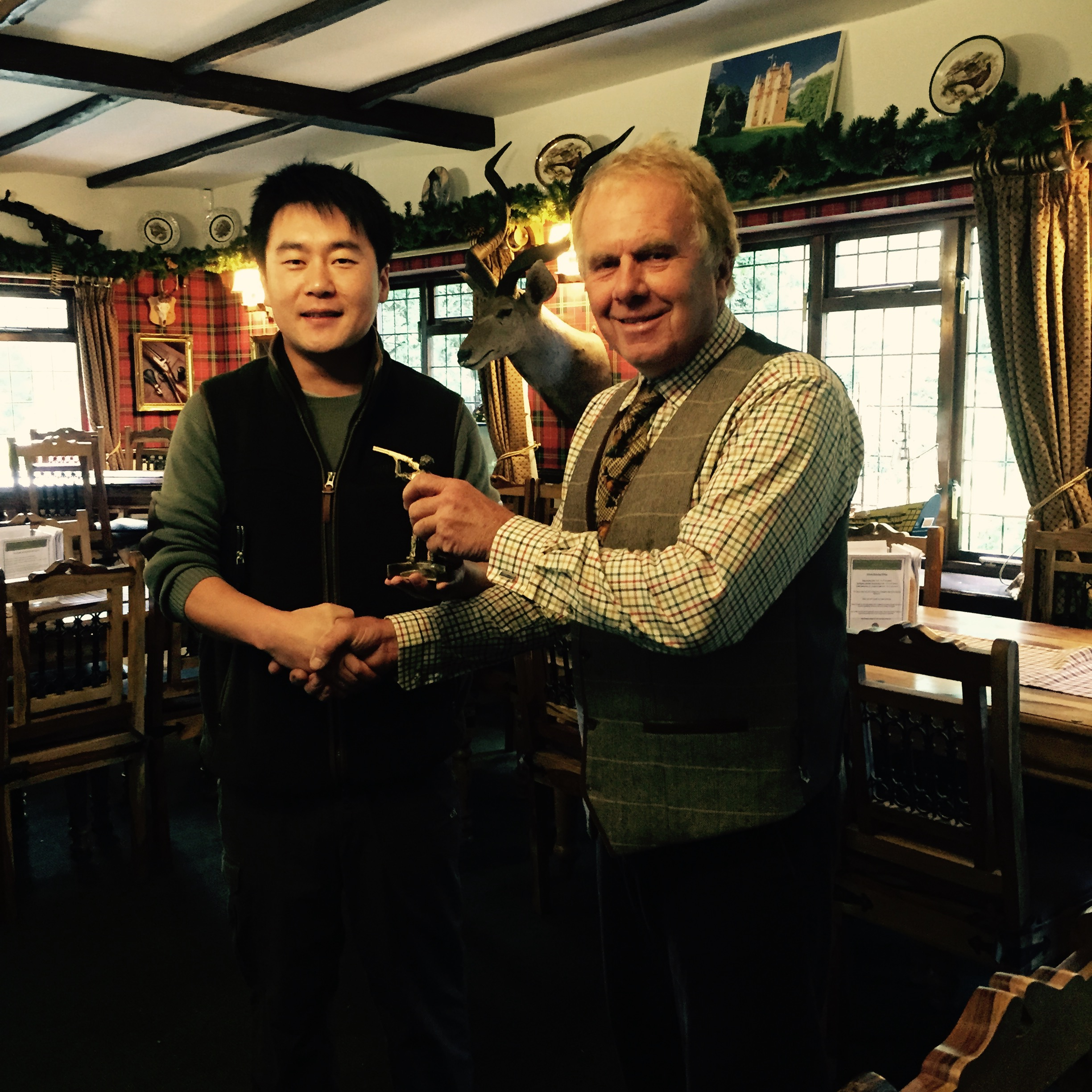 Well Done To Fei - Coffin Dodger's Shooting Group Handicap Winner 2015