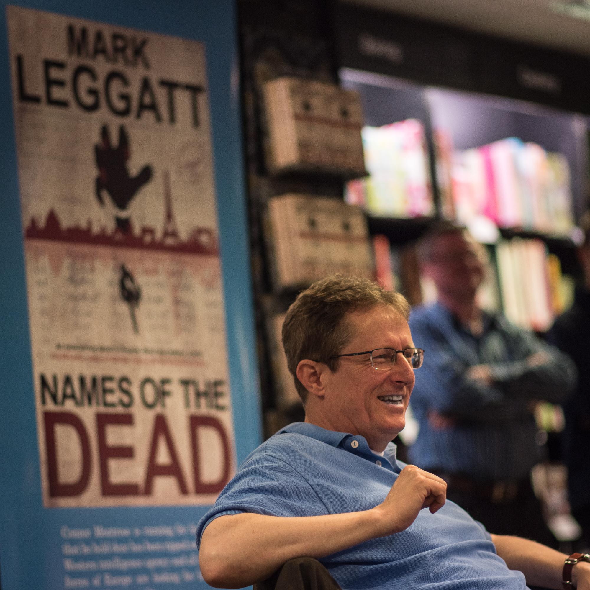 Mark Leggatt Book Launch
