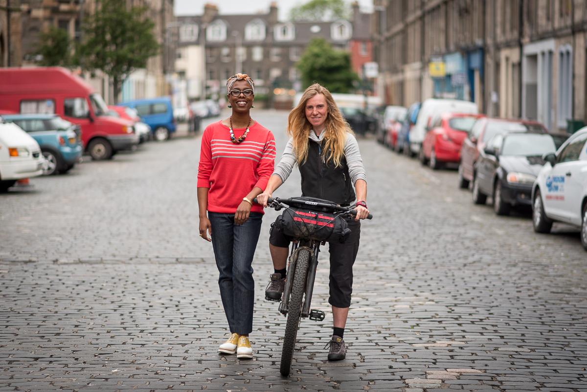 Women's Cycle Forum Scotland Launch