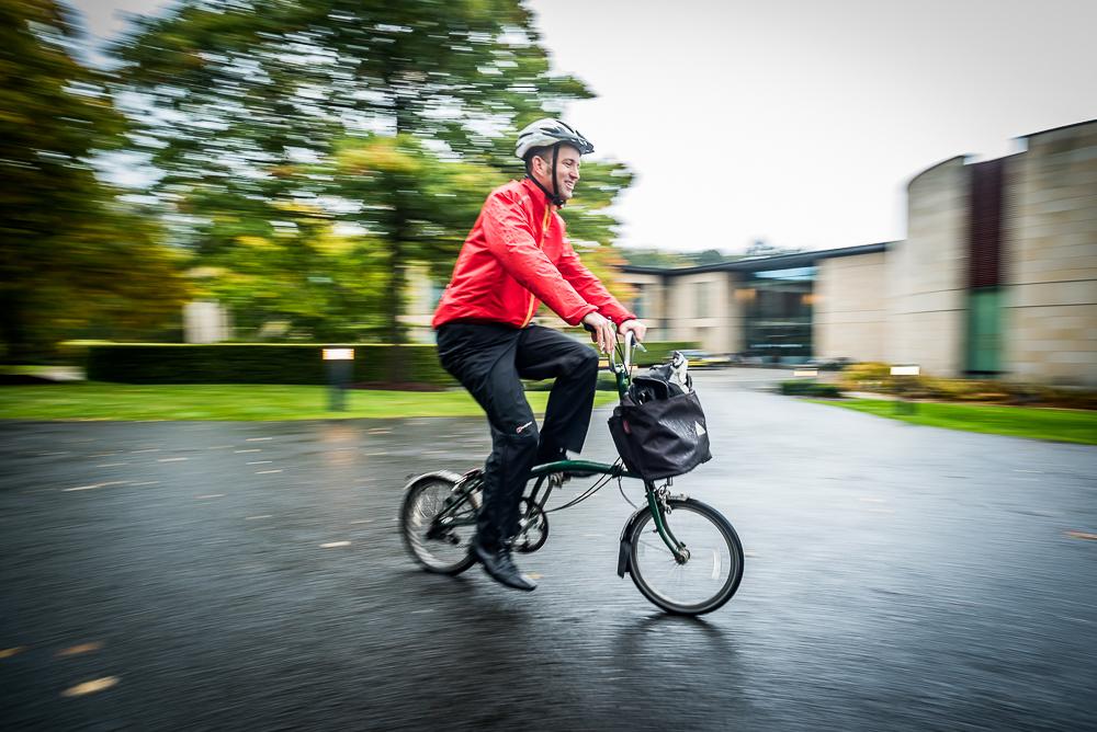 Cycling Scotland CEO Keith Irving