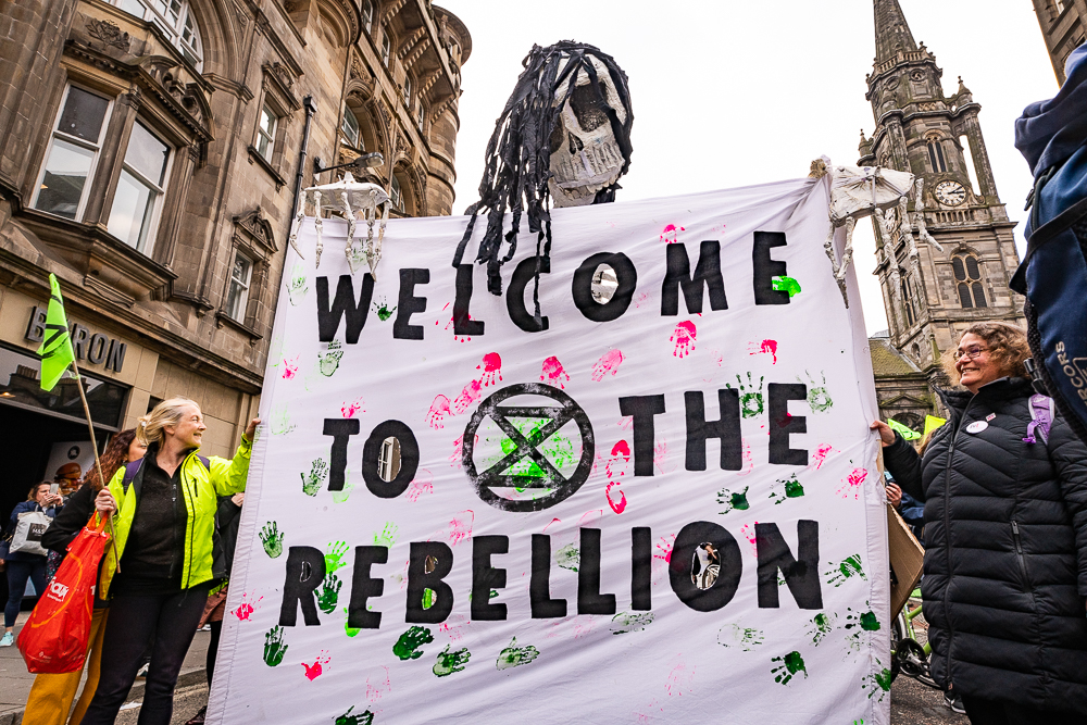 Extinction Rebellion Edinburgh