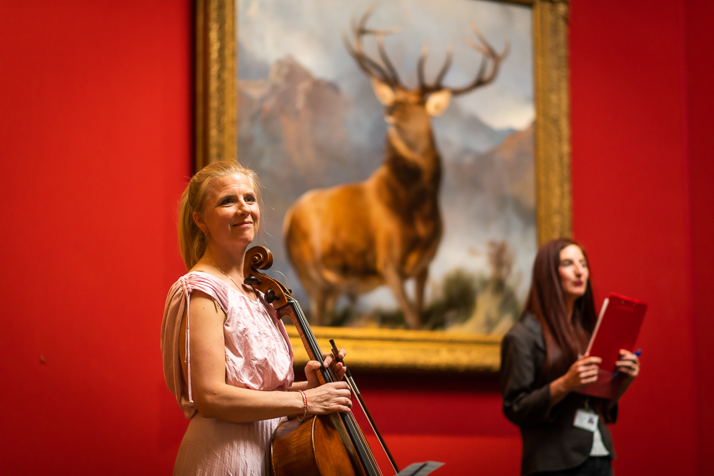 Clea Friend Cello Performance • National Galleries of Scotland