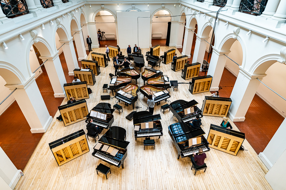 Steinway Multi Piano Spectacular • Edinburgh College of Art