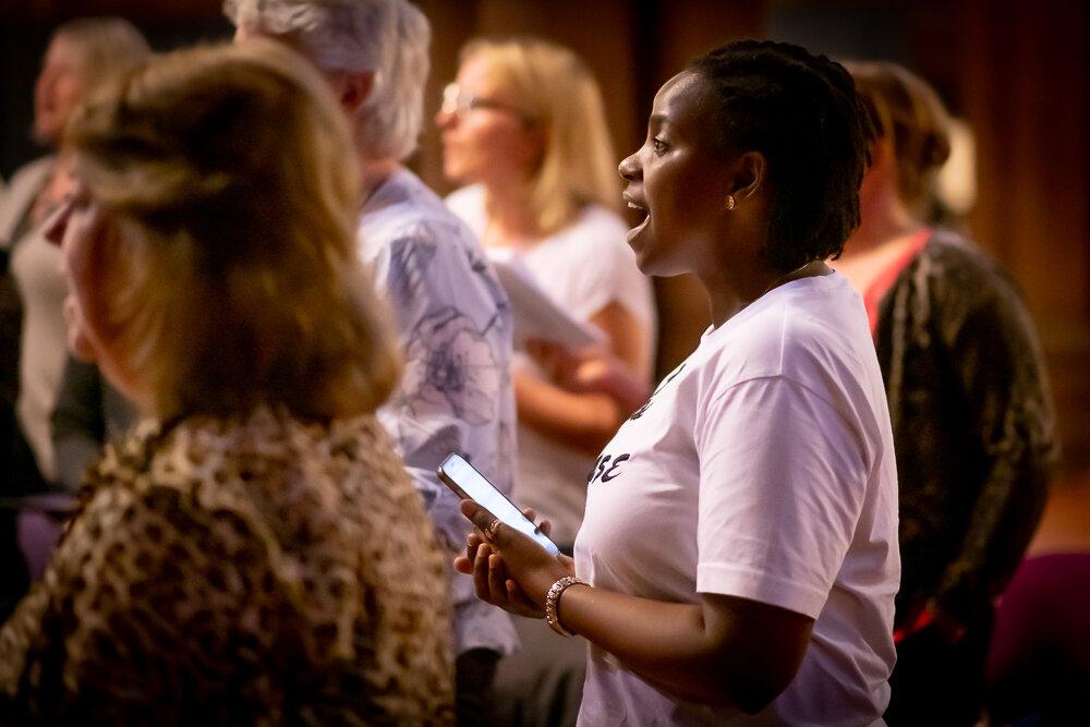 Got Soul Choir Glasgow Workshop
