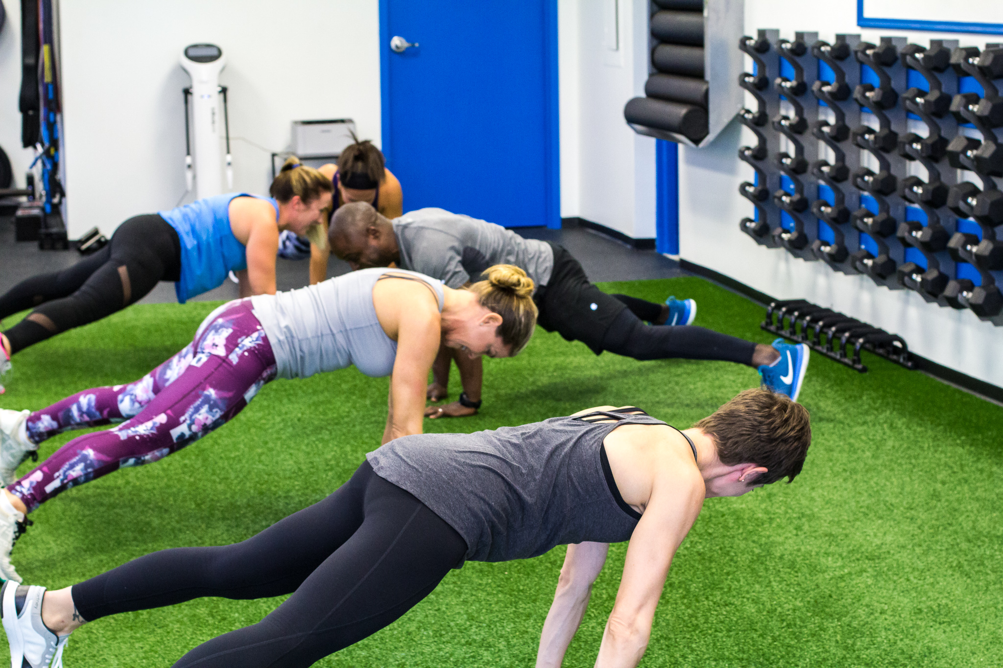 team Training - Small group training is a fast paced full body workout that is best suited for intermediate to advanced athletes looking to train in a fun and encouraging environment. Simply put, this is just an efficient and effective way to get in shape and stay in shape. You will change your body and your mind.
