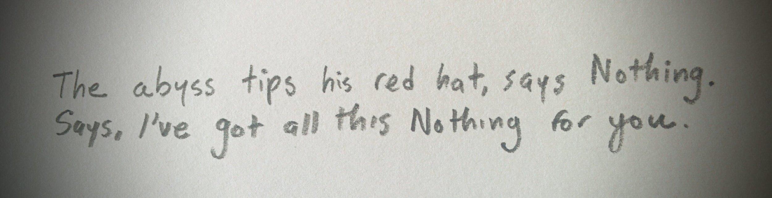 Written today in lieu of novel revisions.