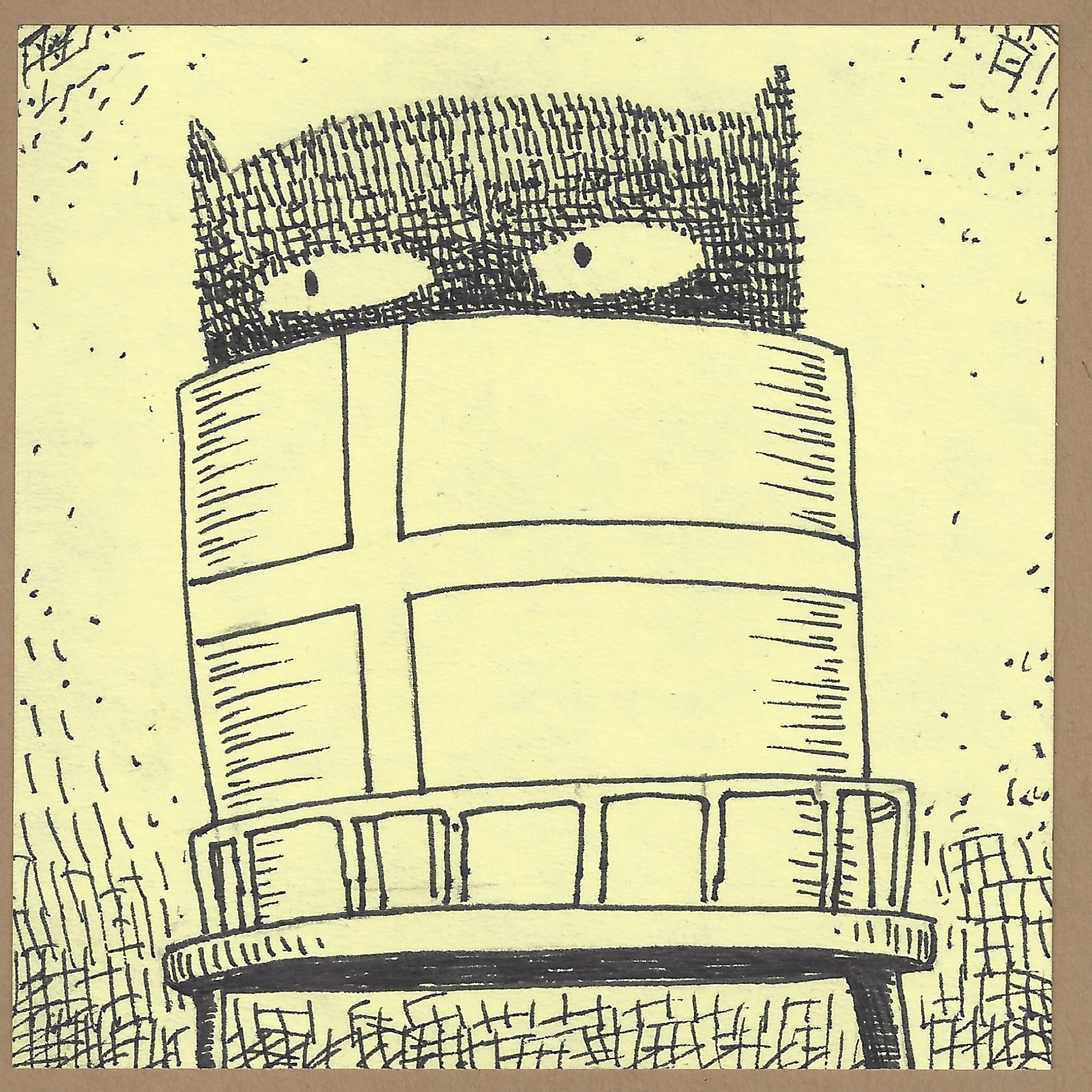 andersonville watertower critter.jpg