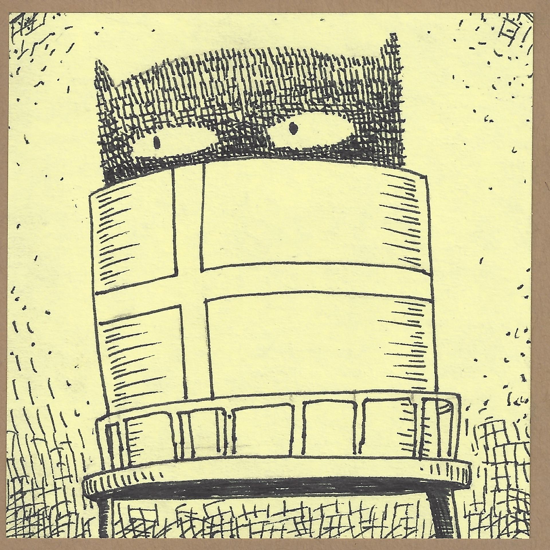 andersonville watertower critter.jpg