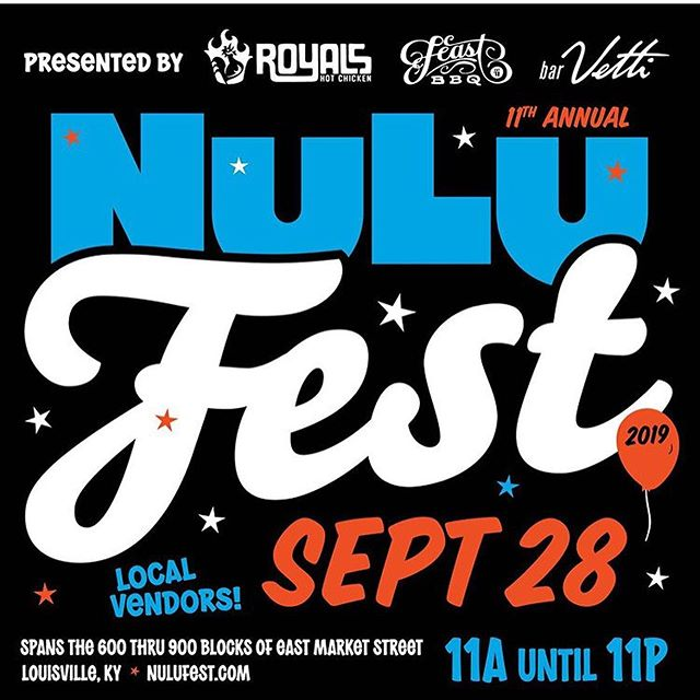 Pumped for @nulufest later this month!  #nulu #louisville #nulufest