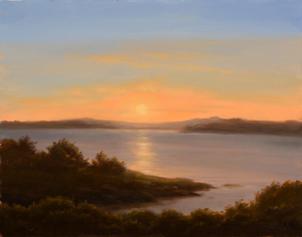 Sunset Castle Hill Cove