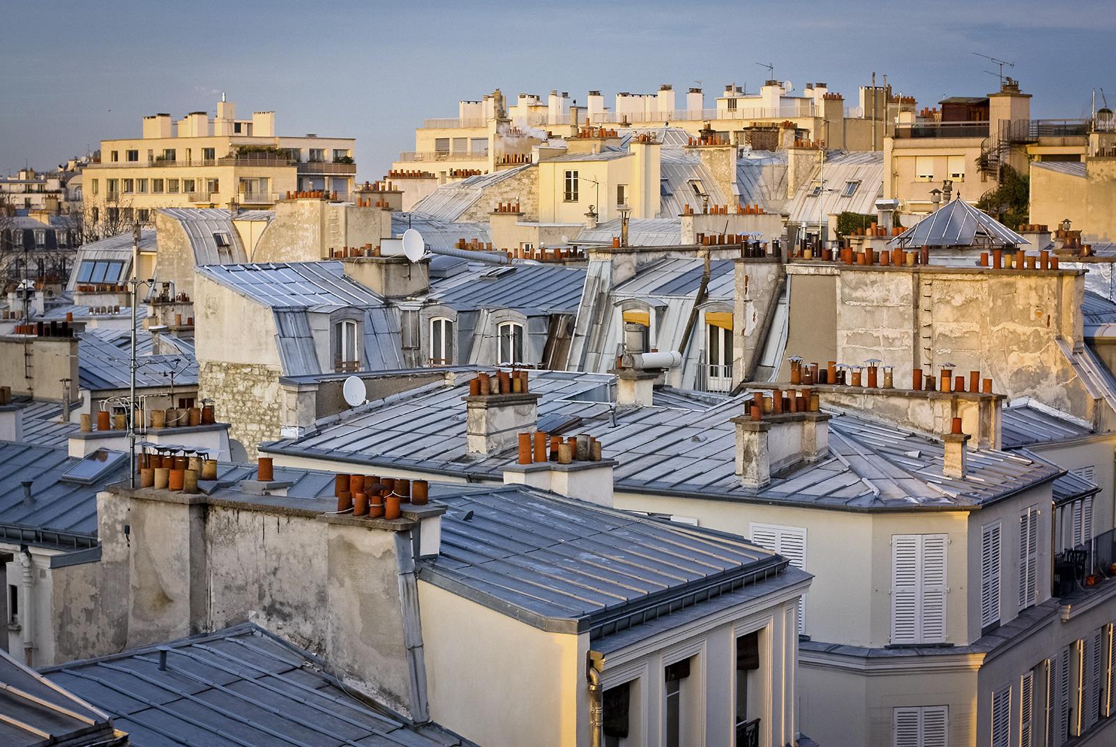 Paris Roof Tops
