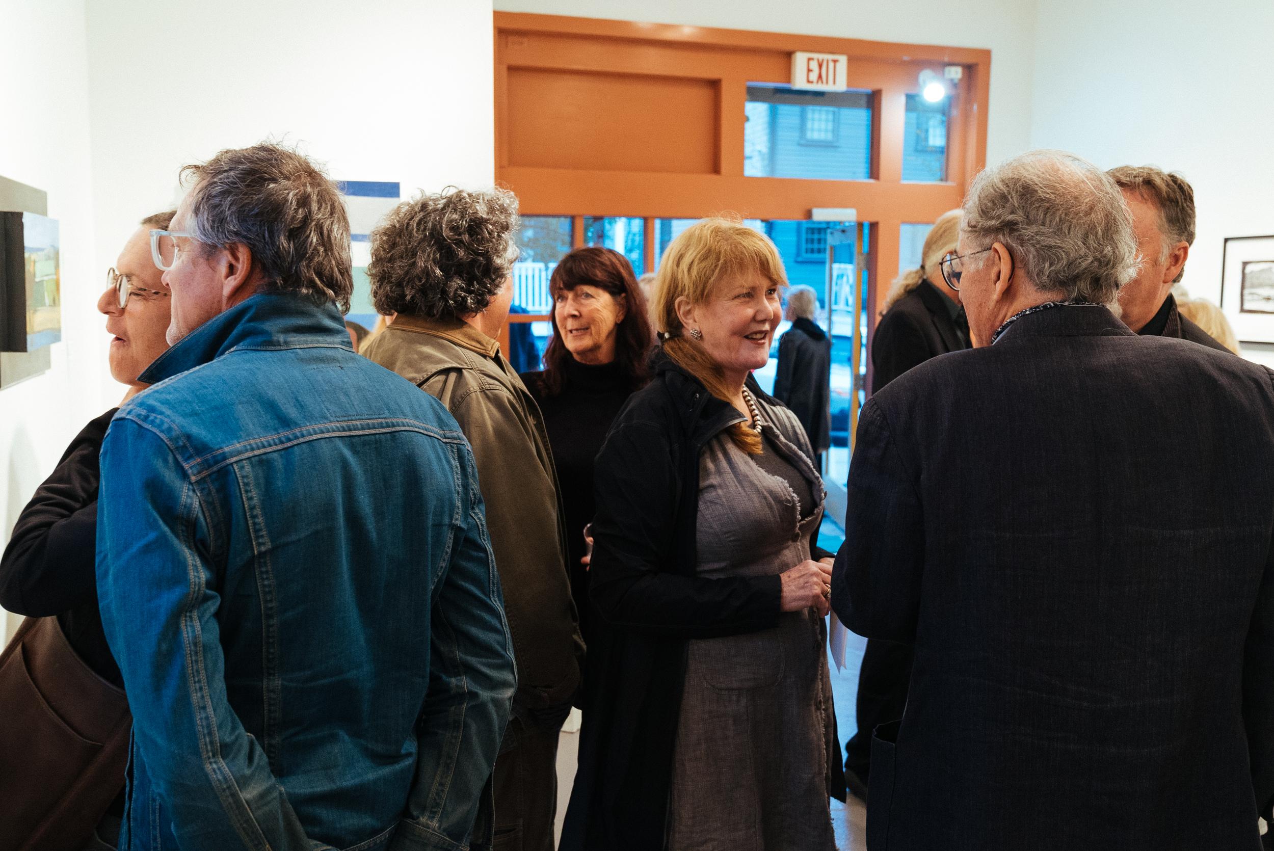 Christopher Benson Exhibit Opening