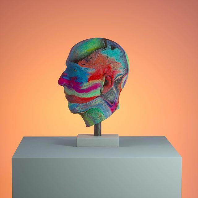 Mask #art #c4d #cinema4d #octane #otoy #zbrush #latex #sculpture #digitalart
