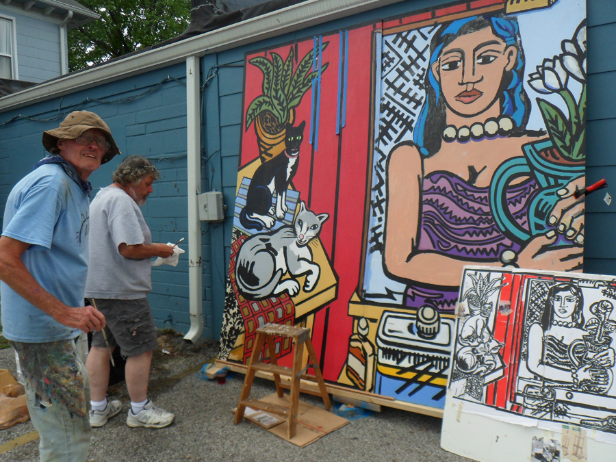 9 jim sampson and john wilson painting.jpg