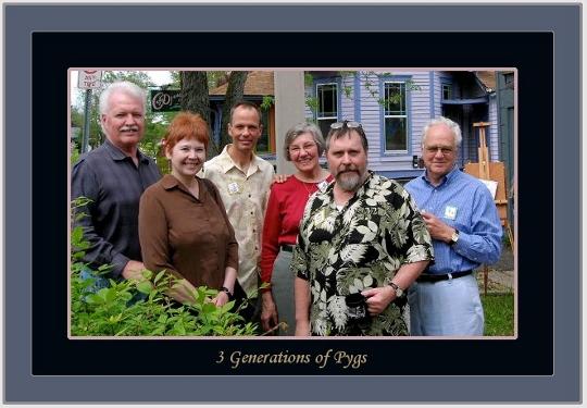 Photo left to right:  Robert Marr, founder, Bonna McQuiston, former employee and partner of Robert. Second generation owners: Tom Zeta, Jane Potter-Otten. John Wilson-current owner Werner Otten-second generation owner.