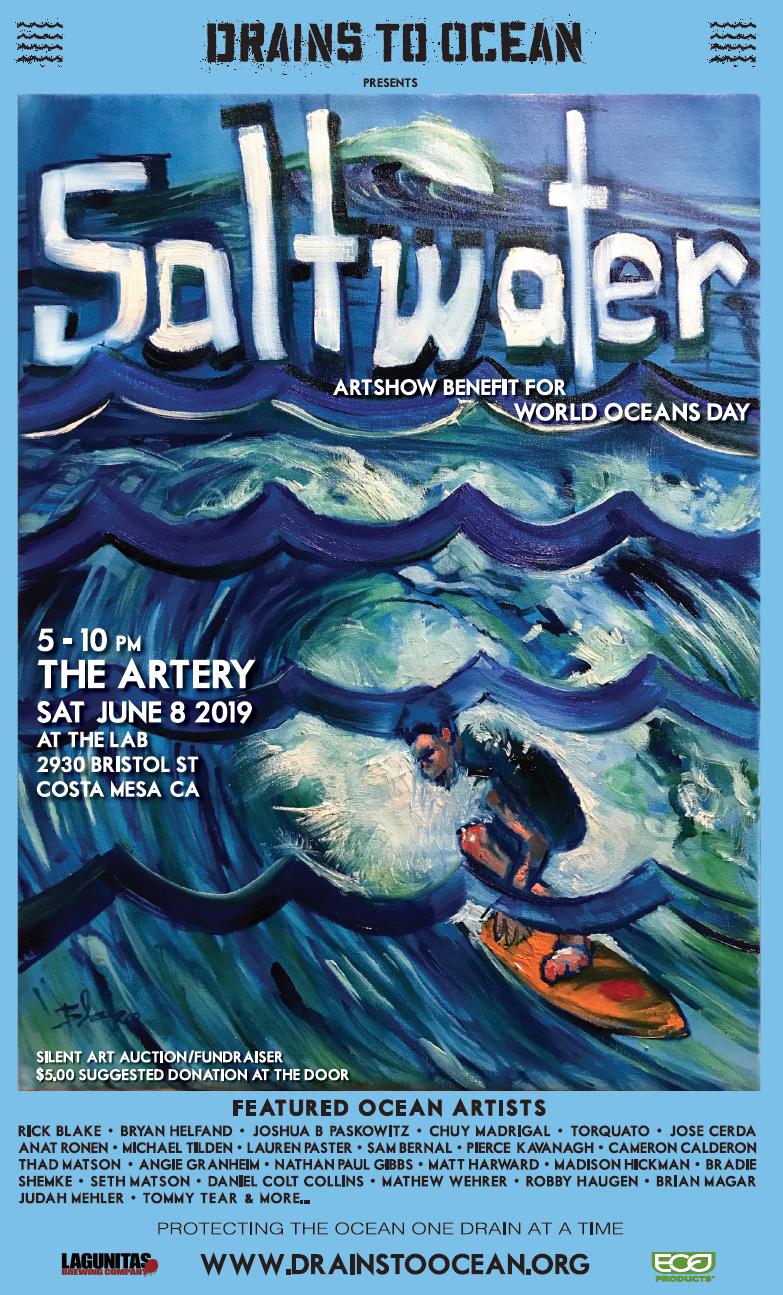 Saltwater Artshow Poster