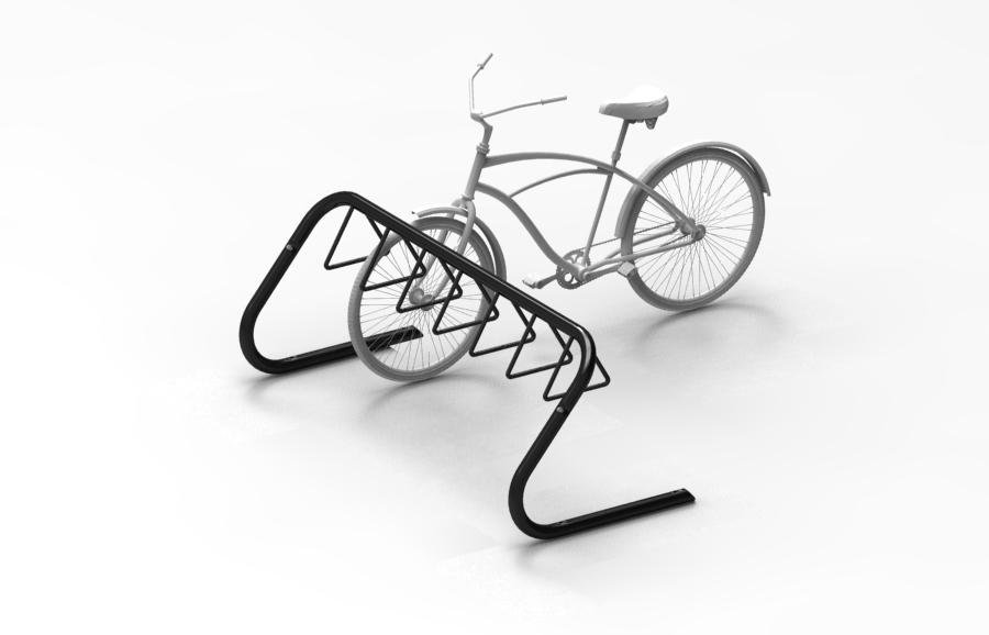 Triangle Bike Rack