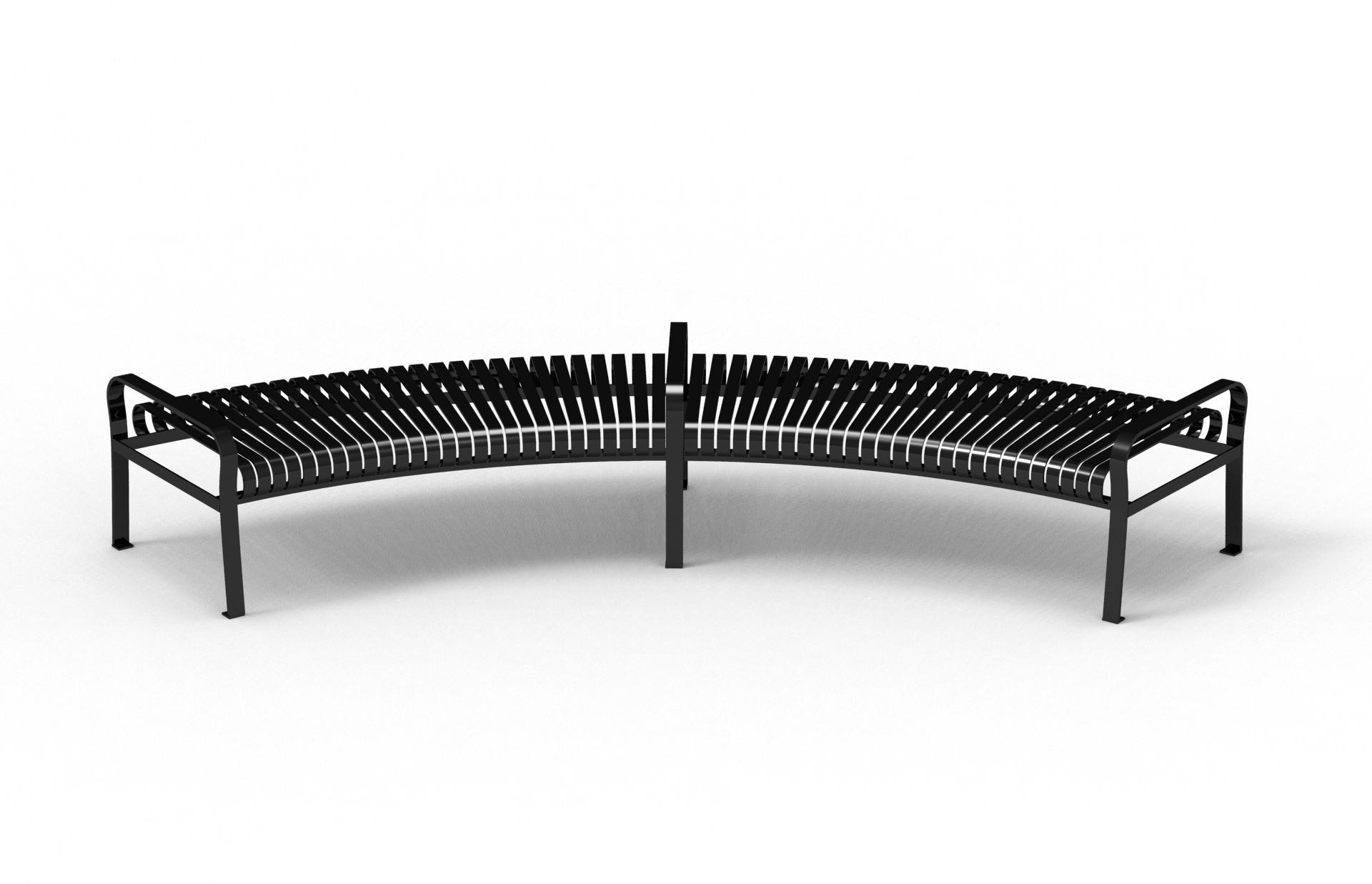 Semi-circle Bench