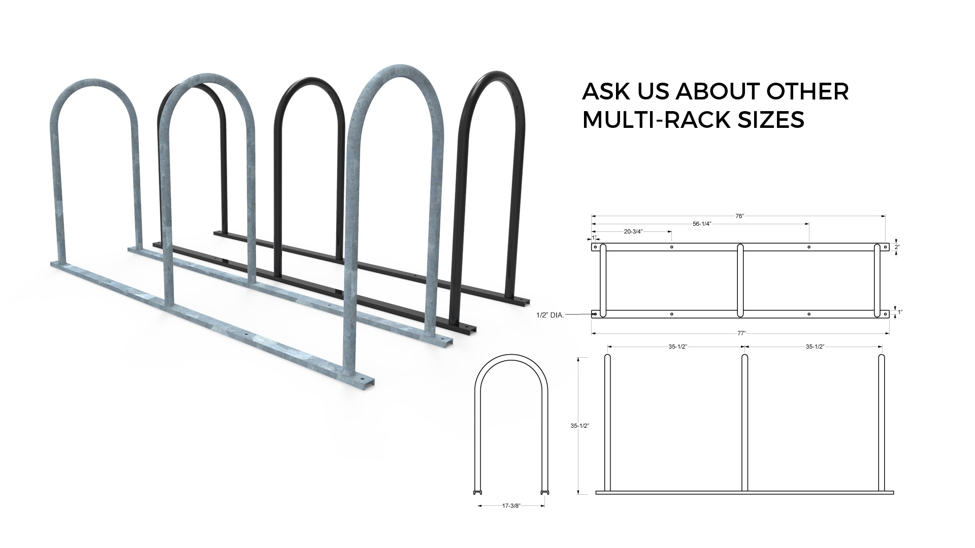 Multi U Bike Rack
