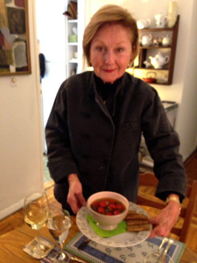 Janeen Sarlin, great friend and chef,