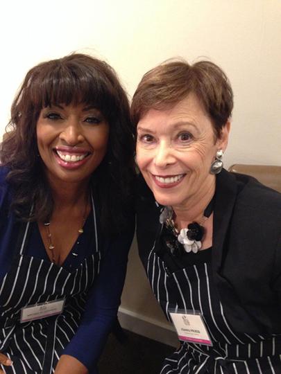 With Brenda Blackmon